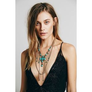 NEW Free People x Vanessa Mooney Sirius Necklace